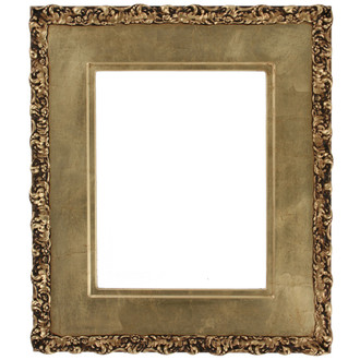 Williamsburg Rectangle Frame # 844 - Gold Leaf