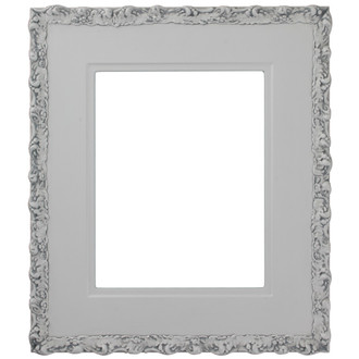 Williamsburg Rectangle Frame # 844 - Linen White