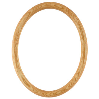 Sydney Oval Frame # 200 - Honey Oak