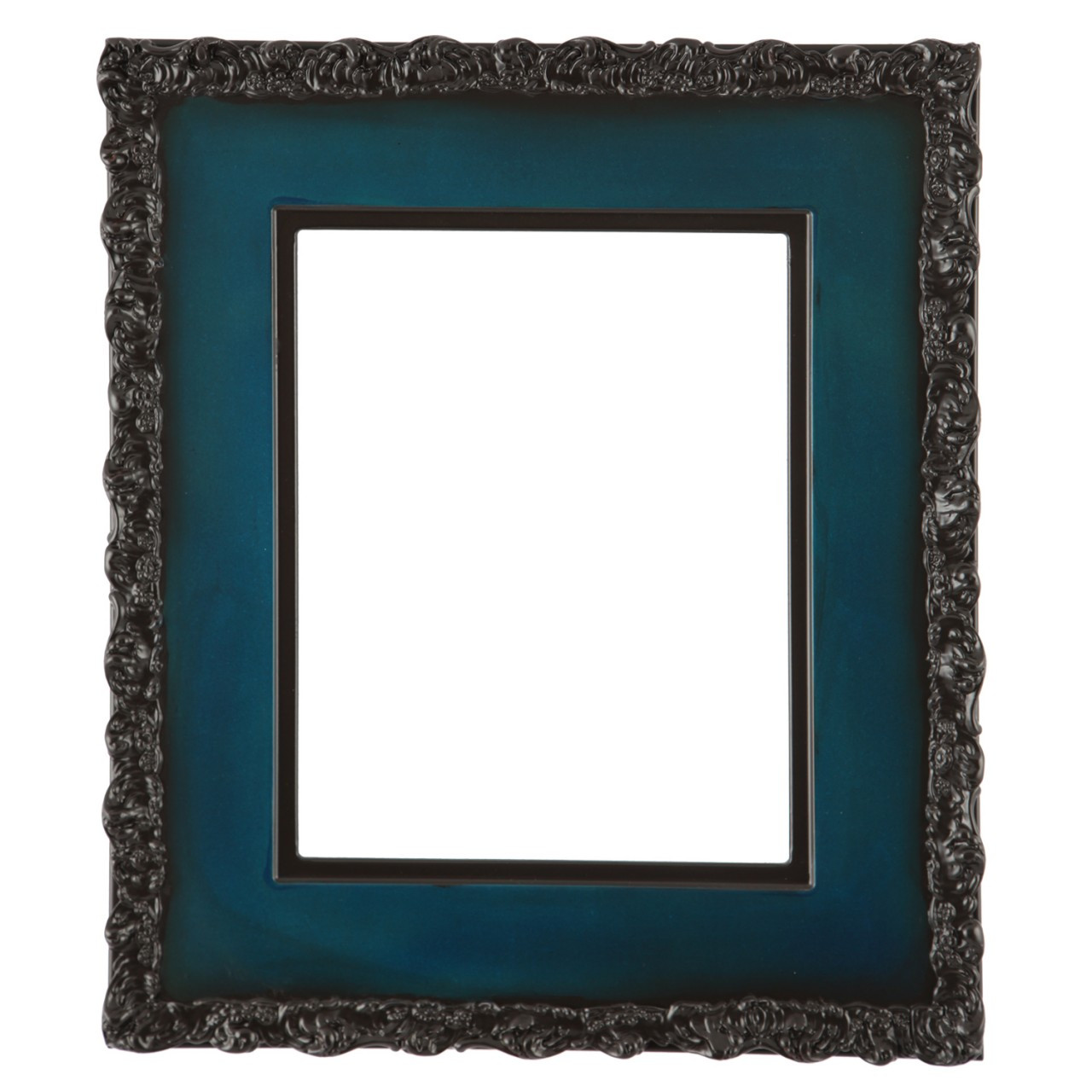 Rectangle Frame In Royal Blue Finish Wide Profile Picture