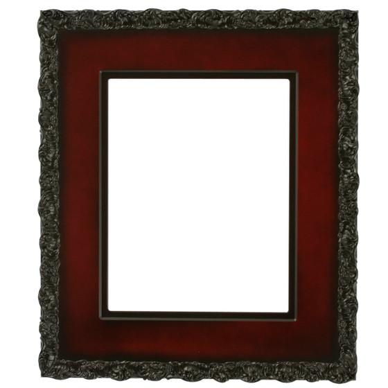 Williamsburg Rectangle Frame # 844 - Rosewood