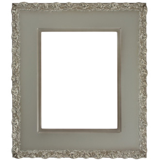 Williamsburg Rectangle Frame # 844 - Silver Shade