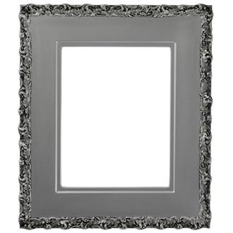 Williamsburg Rectangle Frame # 844 - Silver Spray