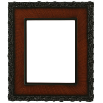 Williamsburg Rectangle Frame # 844 - Vintage Walnut