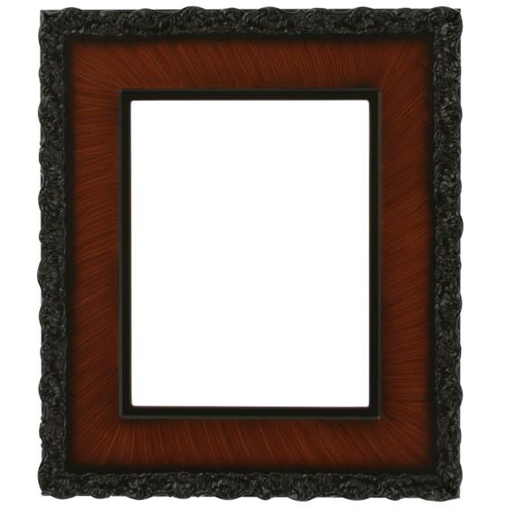 Williamsburg Rectangle Frame # 844 - Vintage Walnut