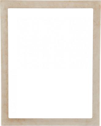 Manhattan Rectangle Frame # 851 - Burnished Silver