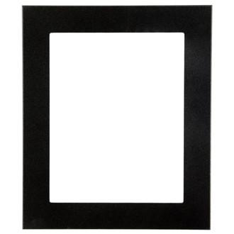 Soho Rectangle Frame # 852 - Black Silver