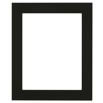 Soho Rectangle Frame # 852 - Matte Black