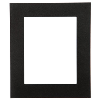 Ashland Rectangle Frame # 853 - Black Silver