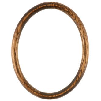 Sydney Oval Frame # 200 - Toasted Oak