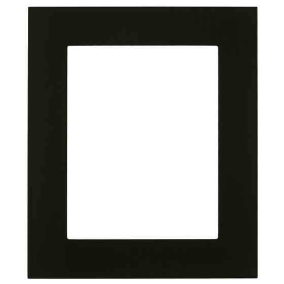 Rectangle Frame in Matte Black Finish| Flat Profile Picture Frames ...