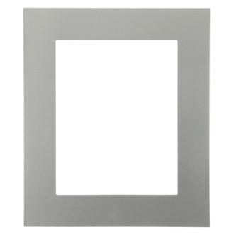 Ashland Rectangle Frame # 853 - Bright Silver