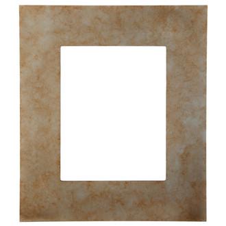 Tribeca Rectangle Frame # 854 - Burnished Silver