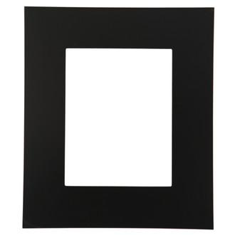 Tribeca Rectangle Frame # 854 - Matte Black