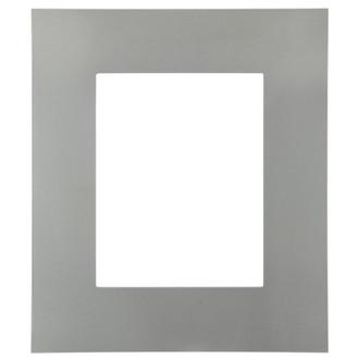 Tribeca Rectangle Frame # 854 - Bright Silver
