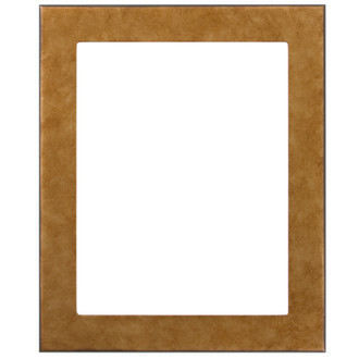 Avenue Rectangle Frame # 862 - Burnished Gold