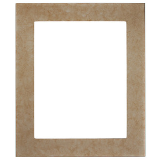 Avenue Rectangle Frame # 862 - Burnished Silver