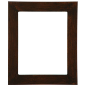 Avenue Rectangle Frame # 862 - Mocha