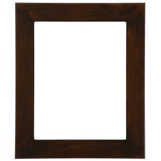 Avenue Rectangle Frame # 862 - Mocha