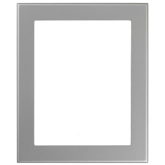 Avenue Rectangle Frame # 862 - Bright Silver