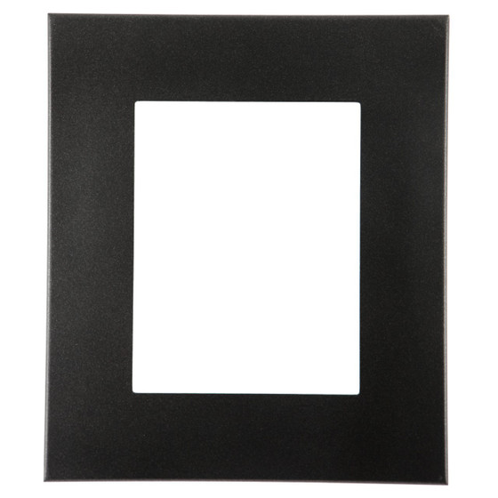 Boulevard Rectangle Frame # 864 - Black Silver