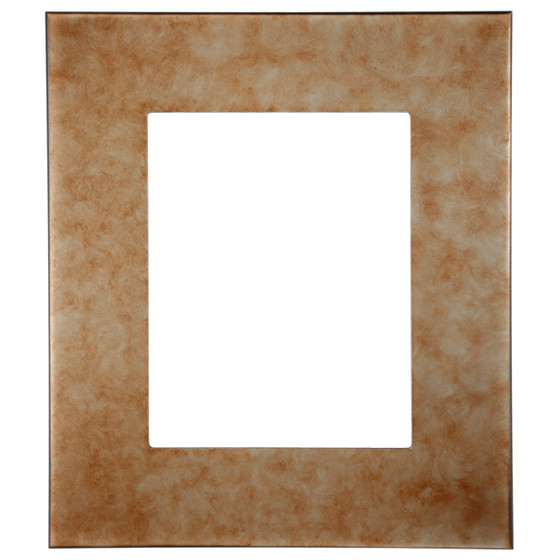 Boulevard Rectangle Frame # 864 - Burnished Silver