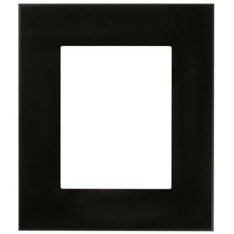 Boulevard Rectangle Frame # 864 - Matte Black