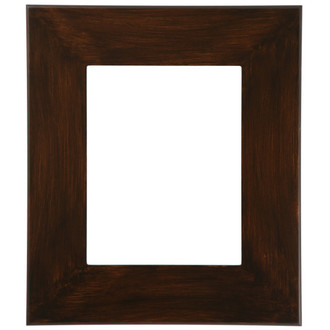 Boulevard Rectangle Frame # 864 - Mocha