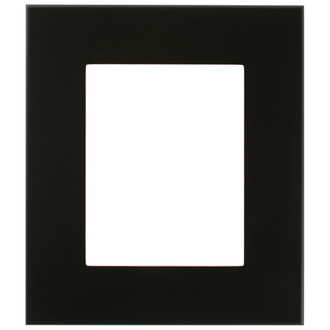 Boulevard Rectangle Frame # 864 - Rubbed Black