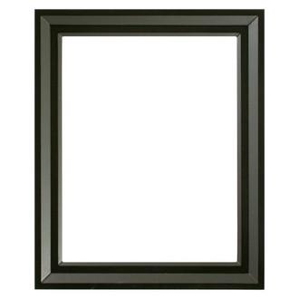 Newport Rectangle Frame # 422 - Matte Black