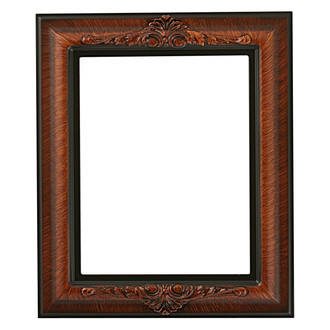 Winchester Rectangle Frame # 451 - Vintage Walnut
