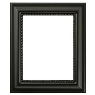 Heritage Rectangle Frame # 458 - Matte Black