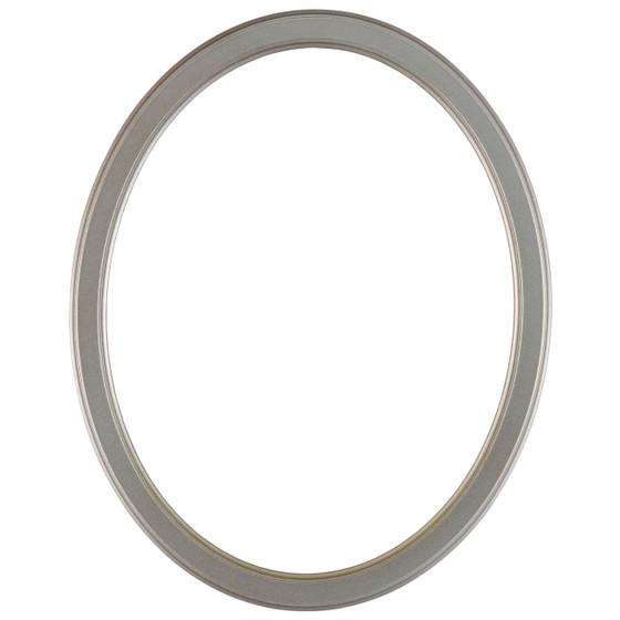 Toronto Oval Frame # 810 - Silver Shade