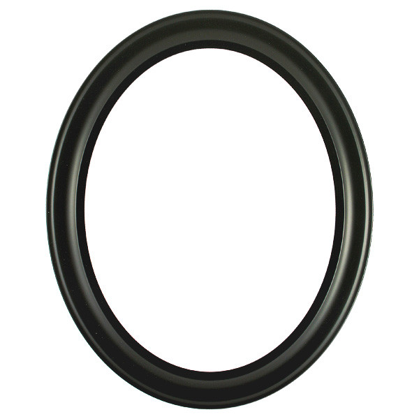 7d46391b914 Oval Frame in Matte Black Finish