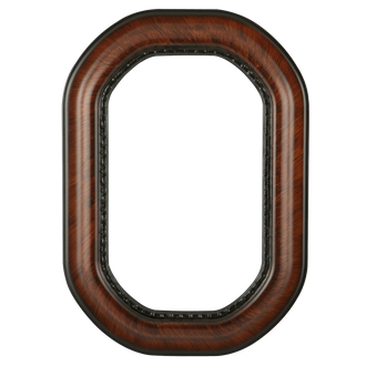 Chicago Octagon Frame - #456 Vintage Walnut