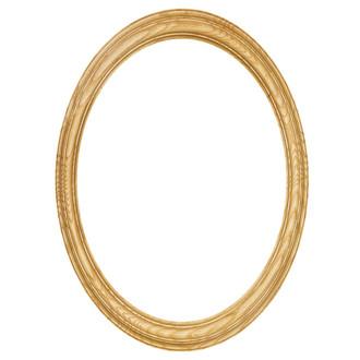 Melbourne Oval Frame # 300 - Honey Oak