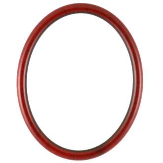 Pasadena Oval Frame # 250 - Vintage Cherry