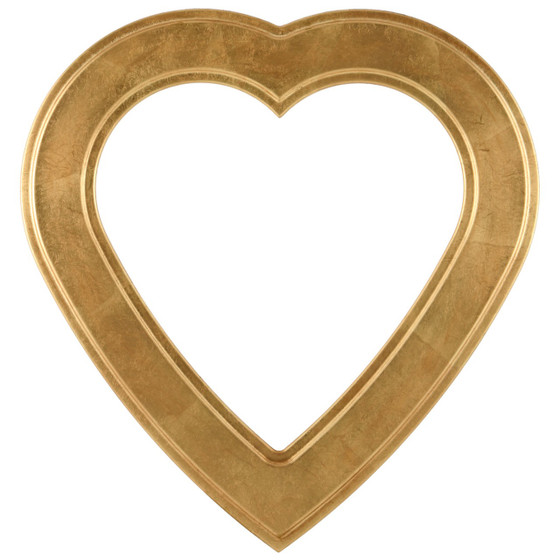 Heart Picture Frame Wide Profile Picture Frames Many Color Options