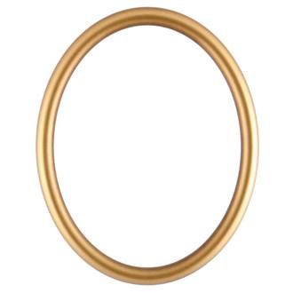 Pasadena Oval Frame # 250 - Desert Gold