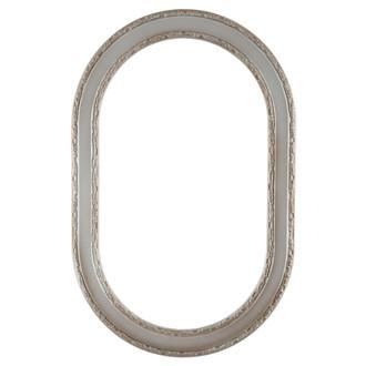 Monticello Oblong Frame #822 - Silver Shade