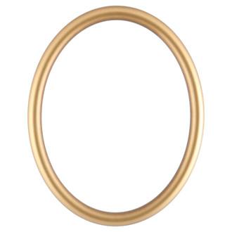 Pasadena Oval Frame # 250 - Gold Spray