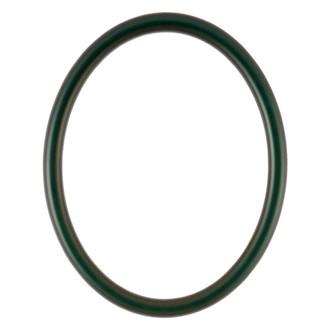 Pasadena Oval Frame # 250 - Hunter Green