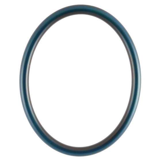 Oval Frame In Royal Blue Finish Blue Picture Frames With