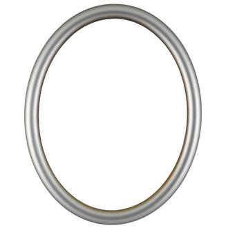 Pasadena Oval Frame # 250 - Silver Shade