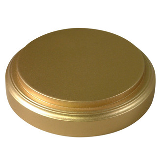 Gold Leaf Base - Glass Dome Included