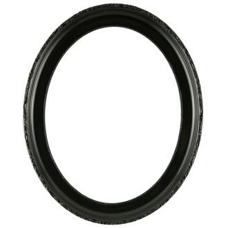 Kensington Oval Frame # 401 - Gloss Black