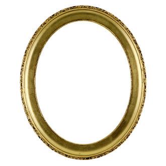 Kensington Oval Frame # 401 - Gold Leaf
