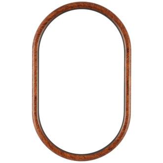 Pasadena Oblong Frame - #250 - Vintage Walnut