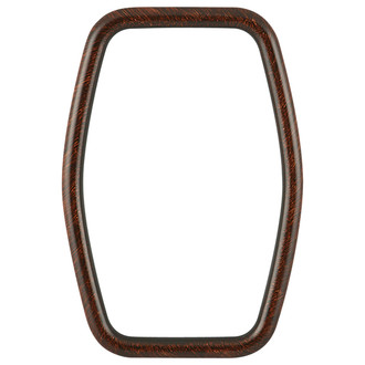 Pasadena Hexagon Frame - #250 - Vintage Walnut