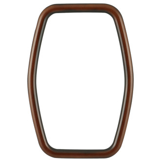 Pasadena Hexagon Frame - #250 - Walnut